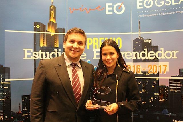 Premio Estudiante Emprendedor EO para jóvenes que desarrollan cosméticos a base de Quínoa