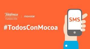 Campaña de donaciones de Movistar para Mocoa