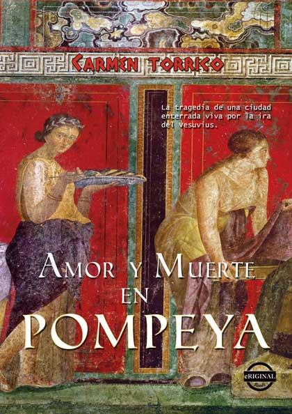 Portada de Amor y muerte en Pompeya