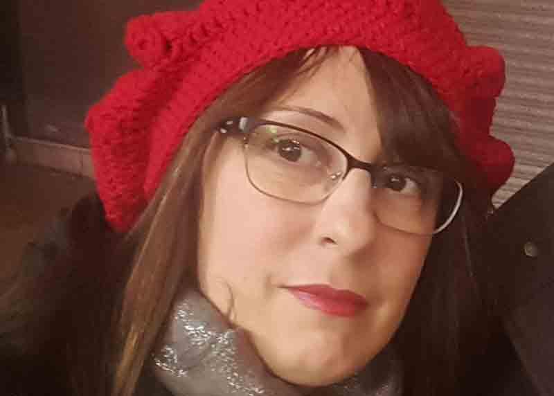Retrato de Noemí Martínez, escritora y poeta