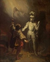 Don Juan et la statue du Commandeur par Fragonard - Source : Wikipedia