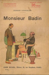 Monsieur Badin de Georges Courteline