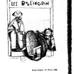 Les Boulingrin de Georges Courteline