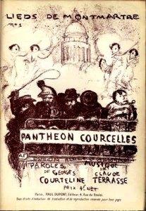 Les Lieds de Montmartre de Georges Courteline