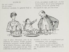 Le nez du général Suif  de Georges Courteline