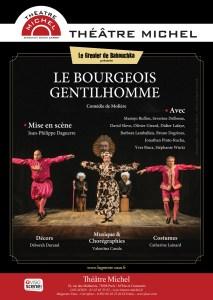 Le Bourgeois gentilhomme à l'affiche