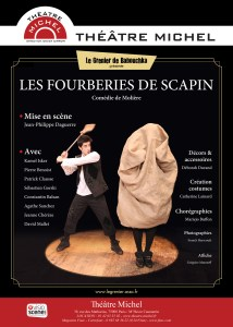 Les Fourberies de Scapin à l'affiche