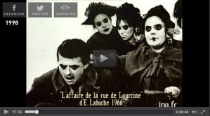 L'Affaire de la rue de Lourcine d'Eugène Labiche
