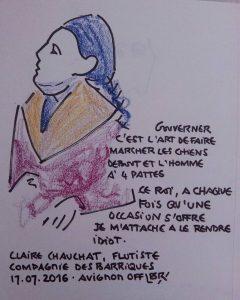 Mangeront-ils ? de Victor Hugo par la Compagnie des Barriques. Avignon OFF 2016