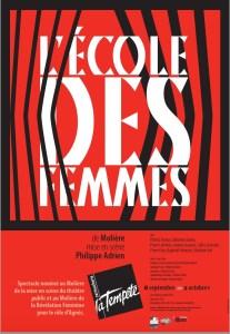 L'École des femmes, mise en scène Philippe Adrien