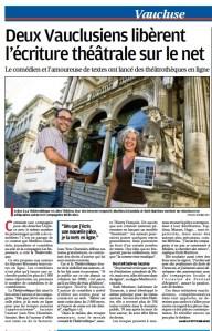 Libre Théâtre s'affiche dans la Provence