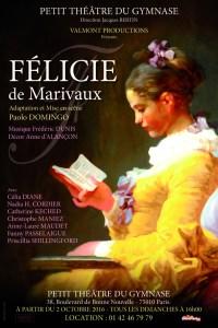 Félicie de Marivaux, mise en scène de Paolo Domingo