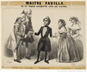 Maître Favilla de George Sand