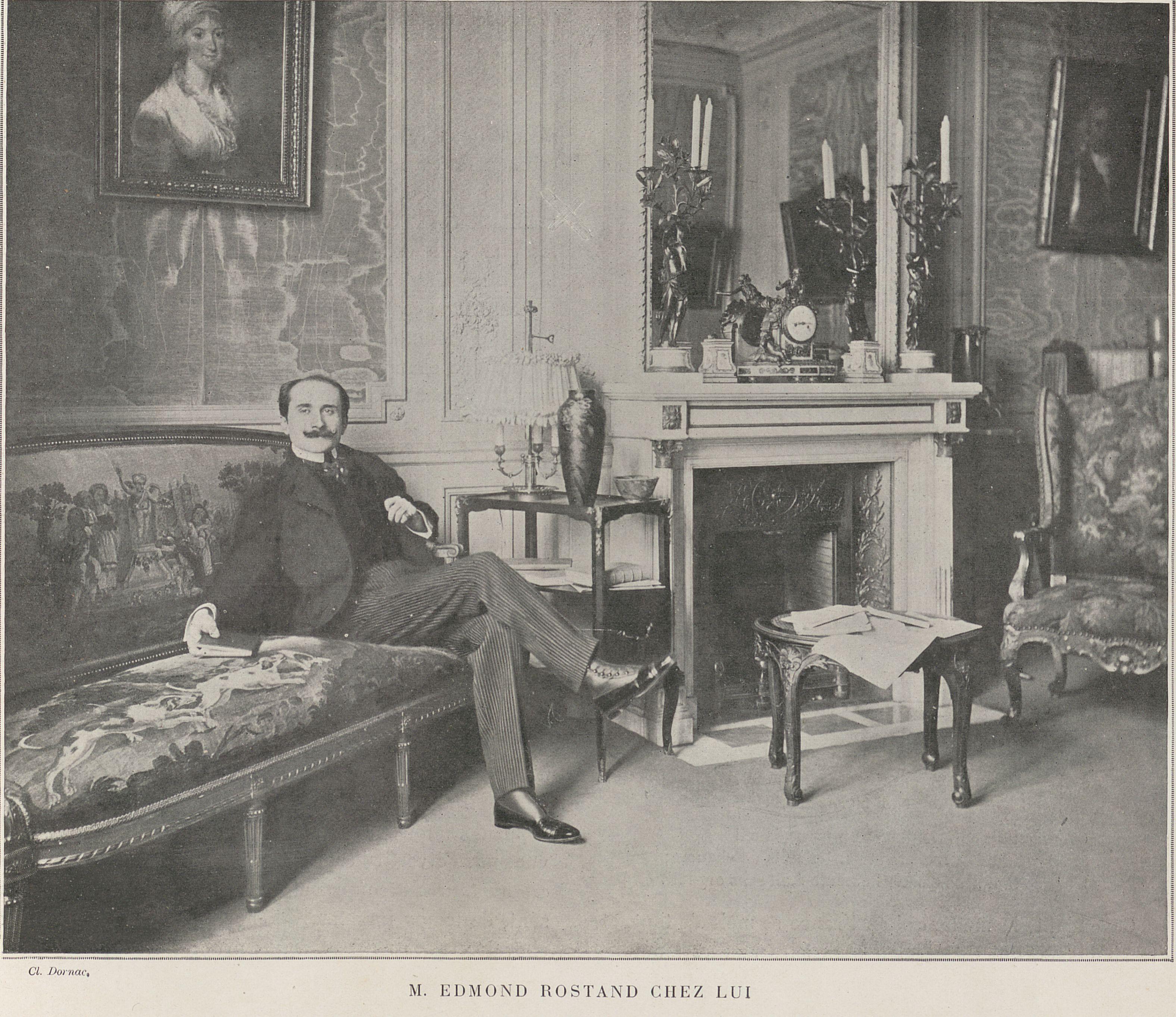 Biographie D U0026 39 Edmond Rostand