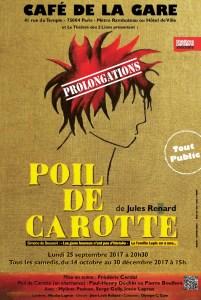 Poil de carotte de Jules Renard au Café de la Gare