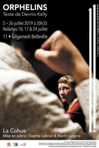 Orphelins de Dennis Kelly par La Cohue