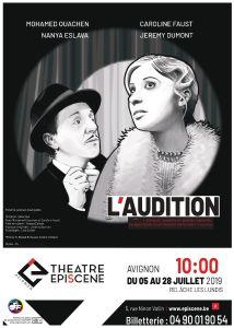 L'Audition, création collective au Théâtre Episcène