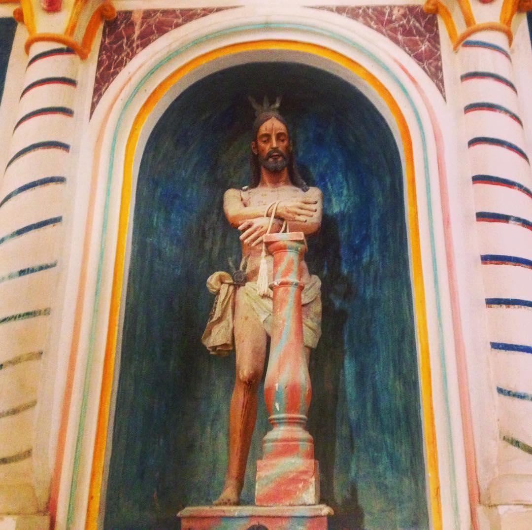 Antipape. Betancuria, Fuerteventura, Canaries, Espagne. Santa Maria de Betancuria n'aura été cathédrale que durant sept courtes années.