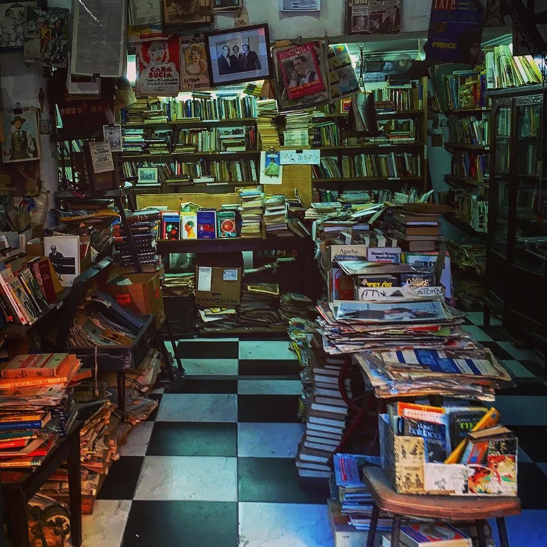 Buenos Aires, Argentine. Le libraire de Tulle.