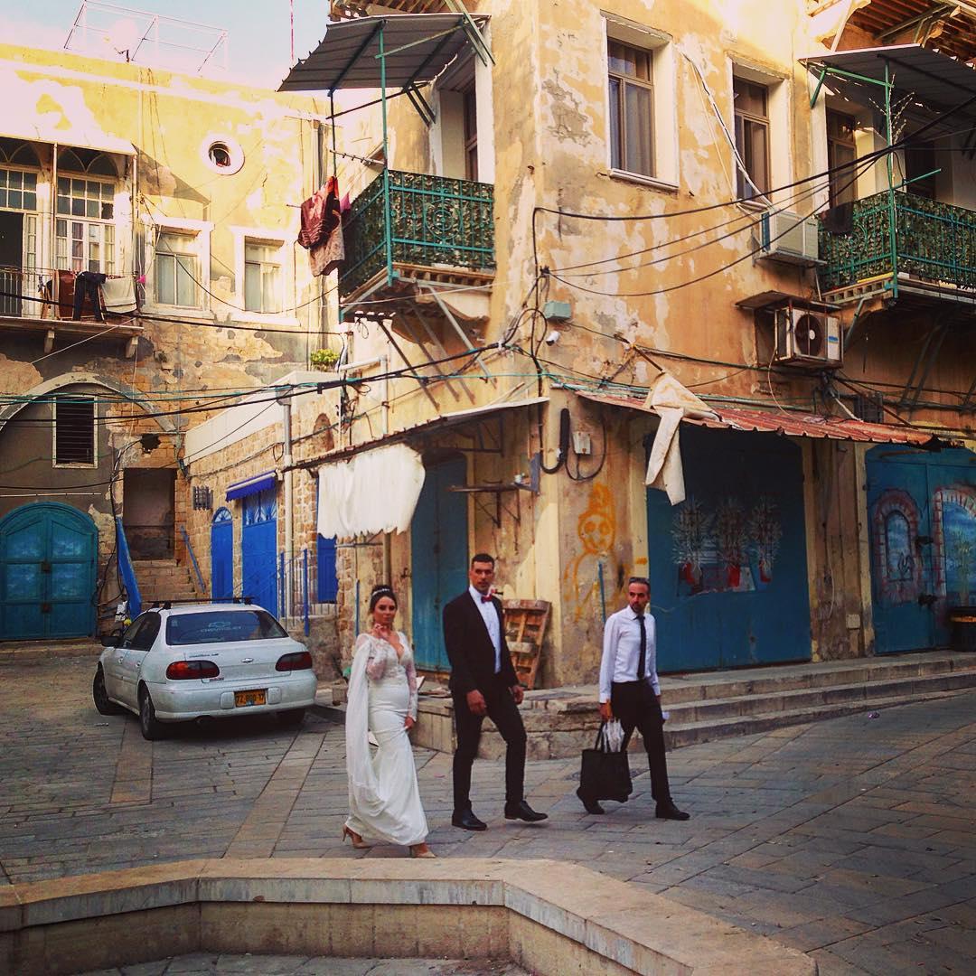 Saint-Jean d'Acre, Israël. Les mariés.