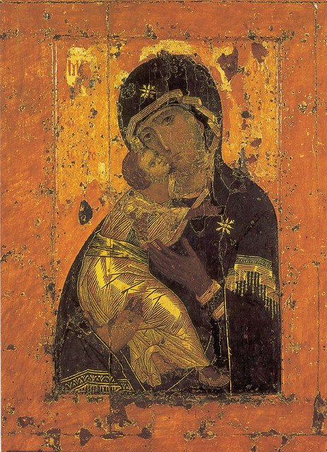 Theotokos of Vladimir, Tretyakov Gallery, Moscow