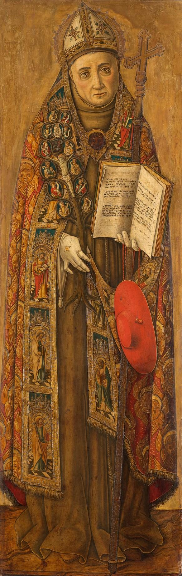 Saint Bonaventure, Vittorio Crivelli, Rijksmuseum, Amsterdam