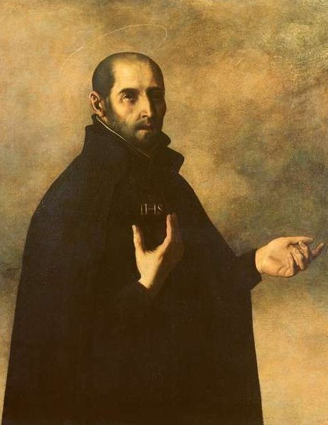 St Ignatius of Loyola by Francisco de Zurbaran
