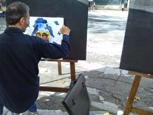 """Fabrizio Barsotti - Estemporanea d'arte """"Nel paese delle meravigle"""""""