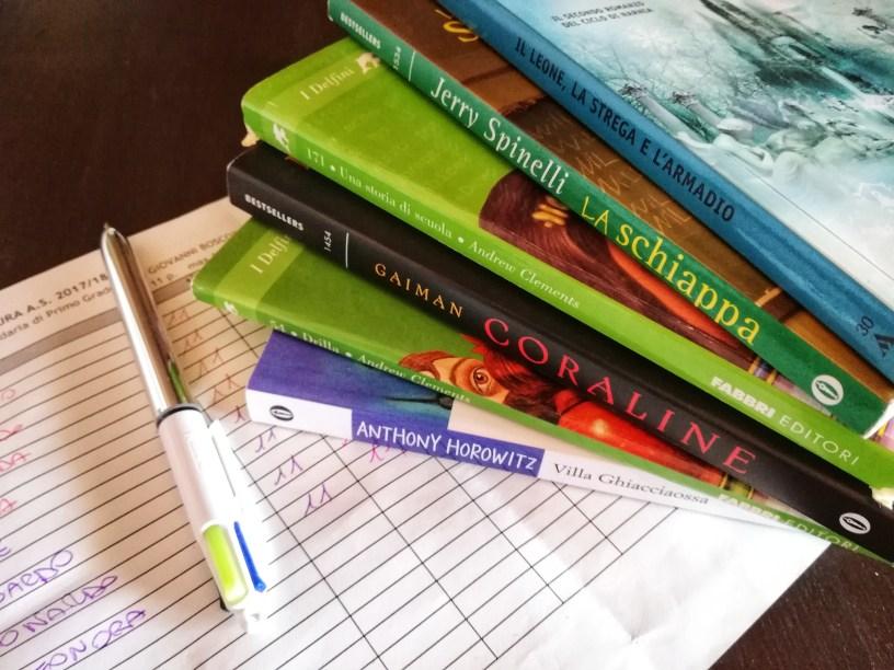 libri e tabellone punti
