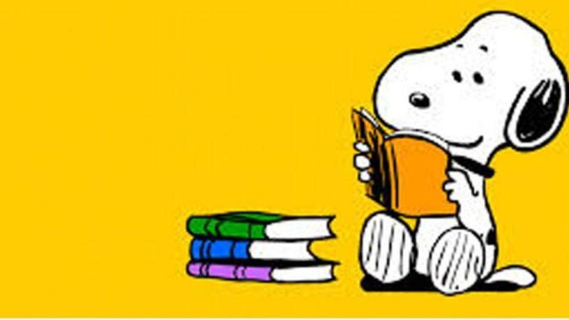 snoopy e i libri in 10 strisce