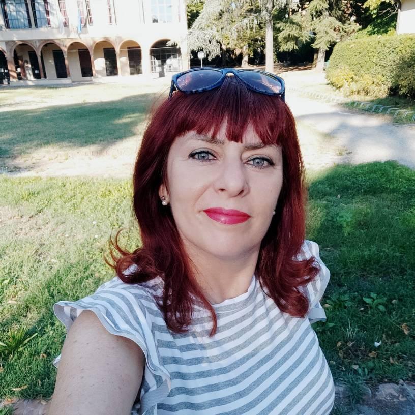 Francesca Fughelli Libringioco alla Palazzina della Viola