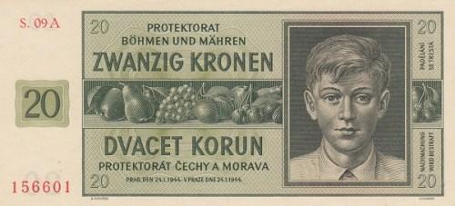 protettorato banconota