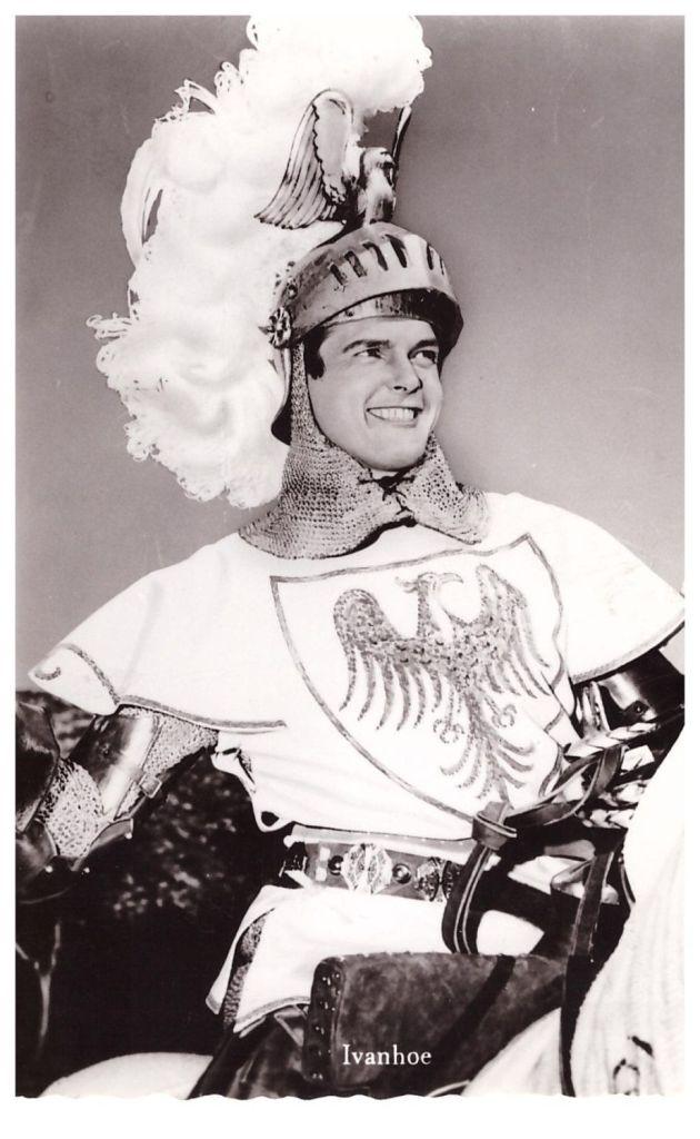 Roger Moore è Ivanhoe