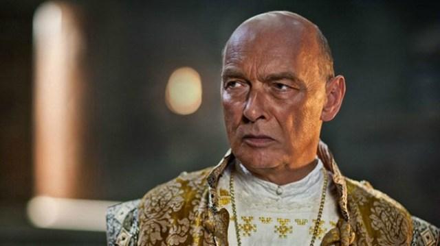 Papa Sisto IV (James Faulkner) in Da Vinci's Demons