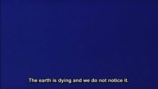 Blue (1993) di Derek Jarman