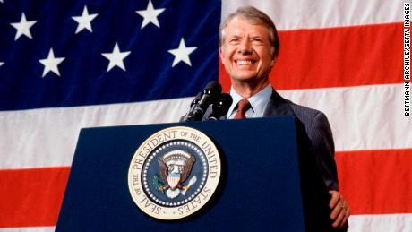 Il presidente Jimmy Carter