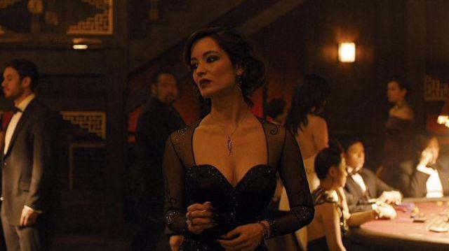 Sèvérine è Bérénice Marlohe in Skyfall (2012) di Sam Mendes