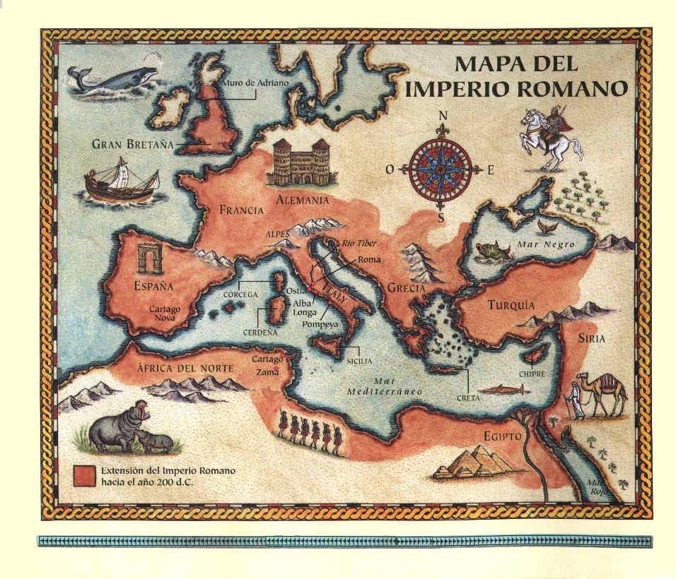 Extensión del Imperio Romano