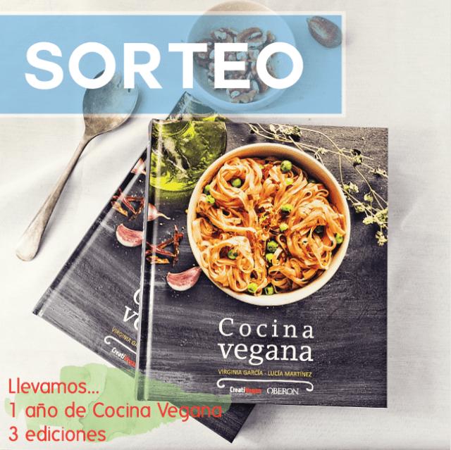 Sorteo de un libro Cocina Vegana