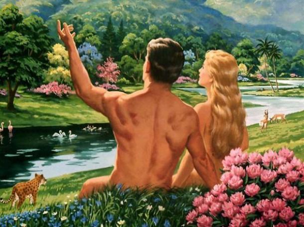 Adan y Eva 4