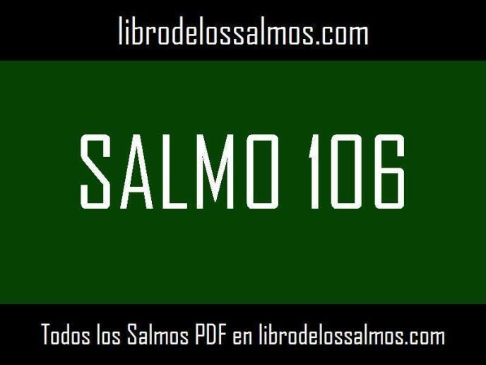 salmo 106