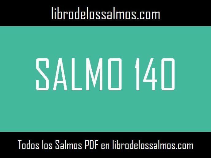 salmo 140