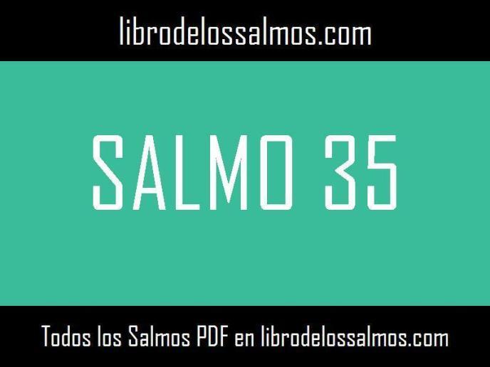 salmo 35