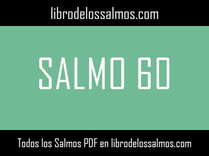 salmo 60