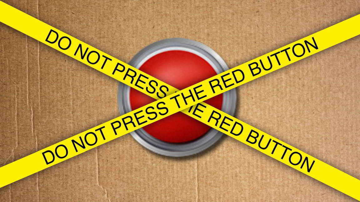 Psicologia inversa - Do not press red button