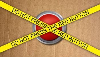 Psicologia inversa - Do not press red button