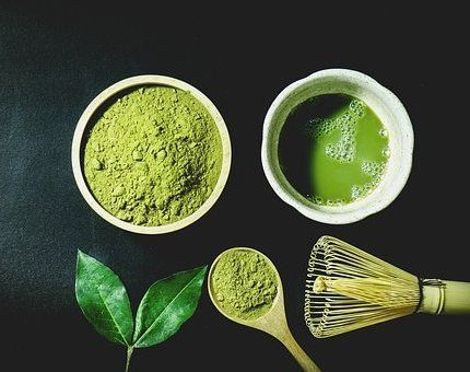 El Té matcha potente antioxidante. Diferentes tipos de tés.