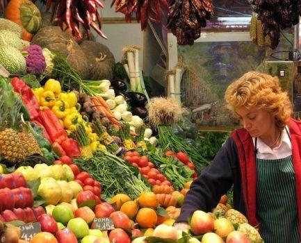 La compra saludable de alimentos