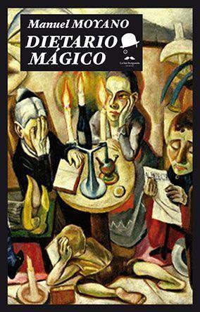 Portada Dietario mágico de Manuel Moyano