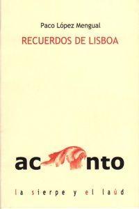 Recuerdos de Lisboa- Portada